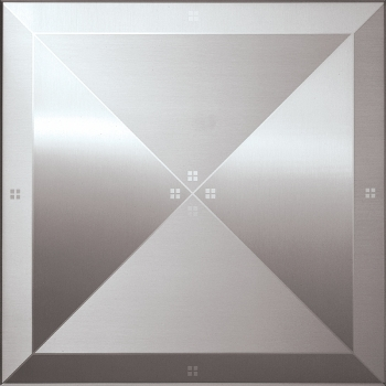 decorative metal ceiling panel tile 310