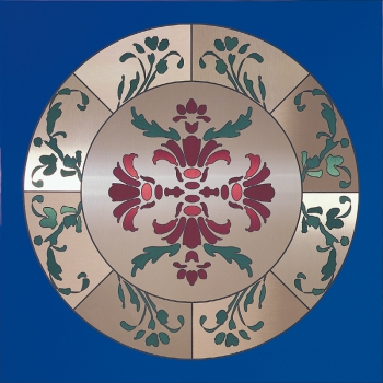 decorative metal ceiling panel tile 347