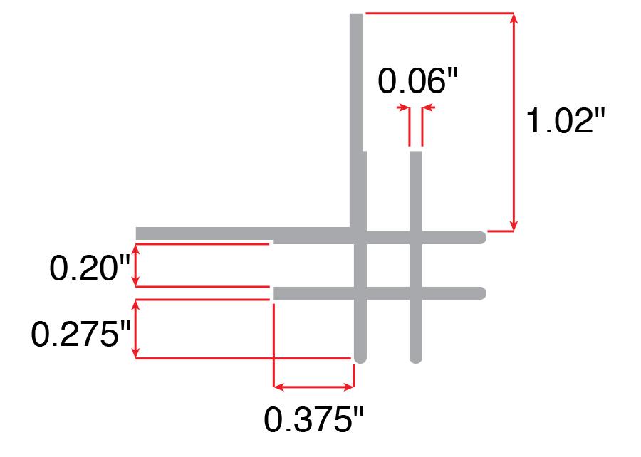 corner trim bracket 1