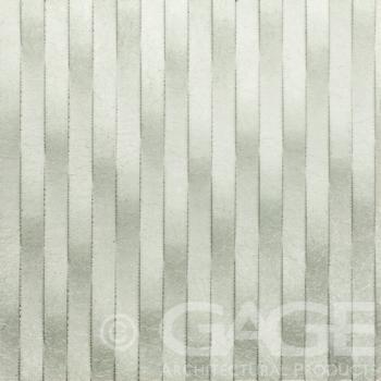 decorative white metal panel