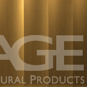 decorative aluminum metal wall panel brass finish