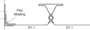 flex ceiling perimeter