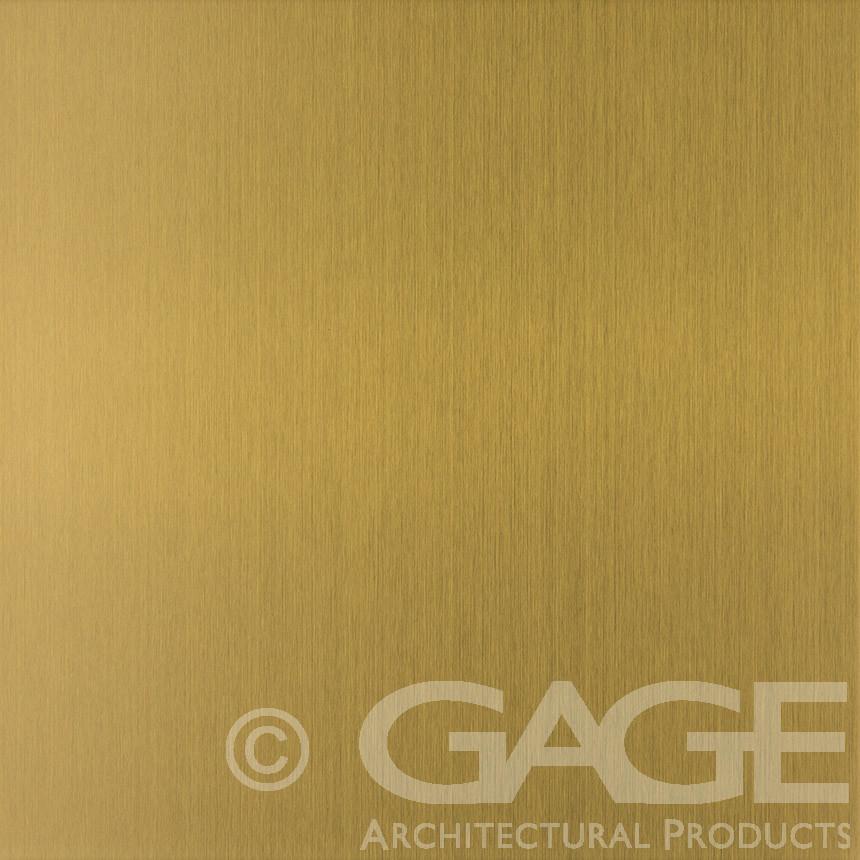 brass long grain satin stainless steel