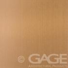copper long grain satin stainless steel