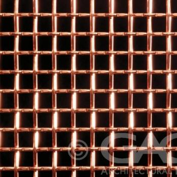 decorative woven metal mesh
